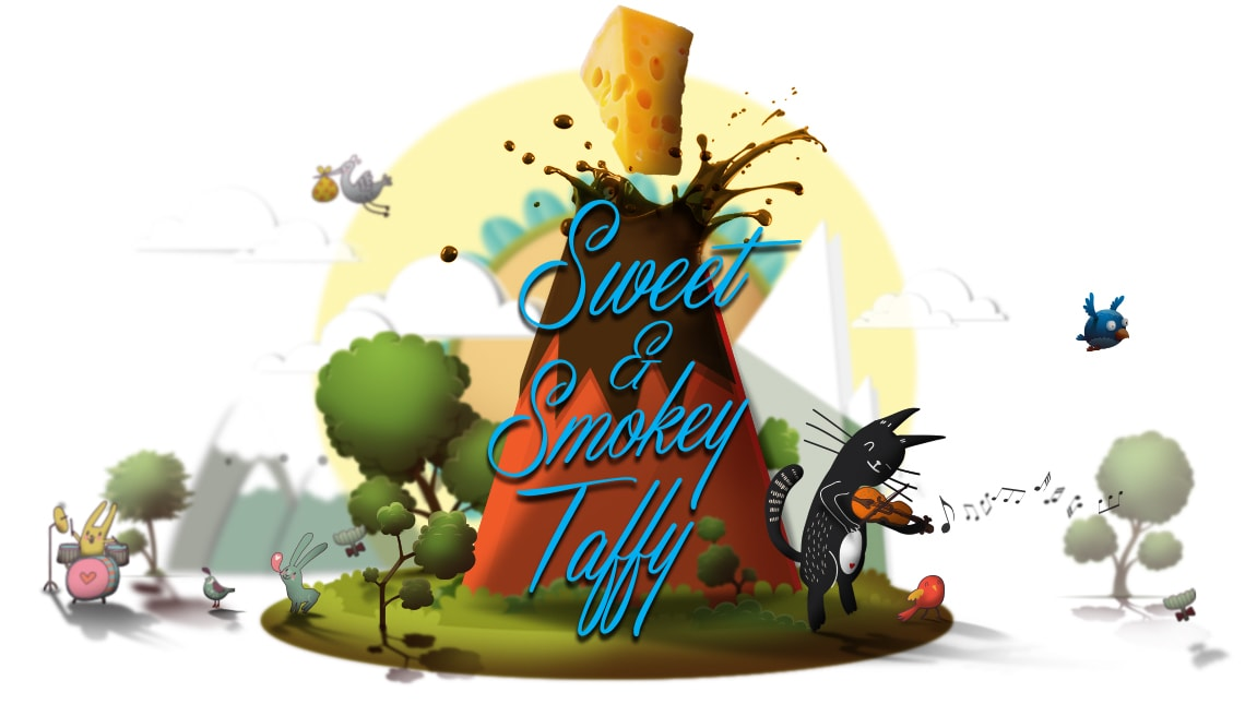 Sweet & Smokey Taffy